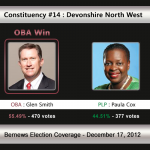 Constituency #14: Devonshire North West