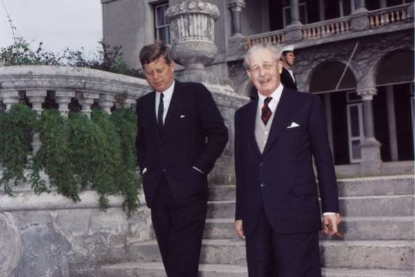 President John F Kennedy In Bermuda, Dec 1961