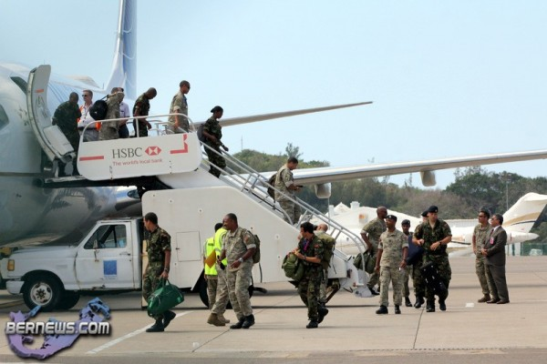 Regiment Soldiers Return Home May 13, 2012