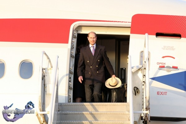 Royal Couple Arrive From UK Mar 16 2011