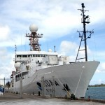 NOAA Climate Research Ship, St George's Aug 2012