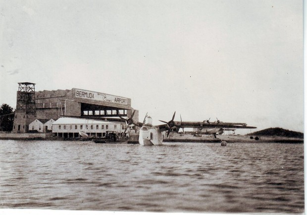 The Darrell's Island flying-boat station