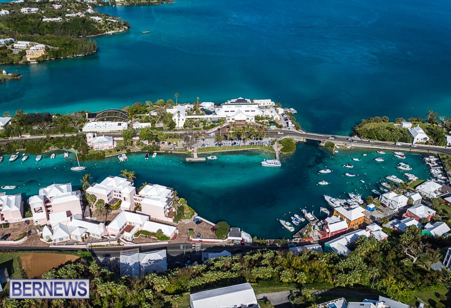 529 BAMZ and Flatt's Inlet look absolutely stunning from the air
