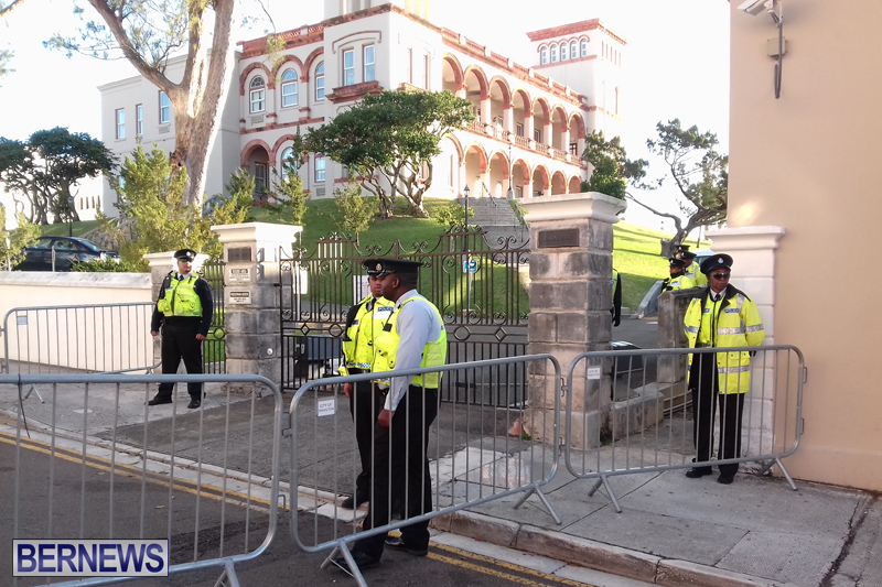 Police At House of Assembly Bermuda February 10, 2017 (11)