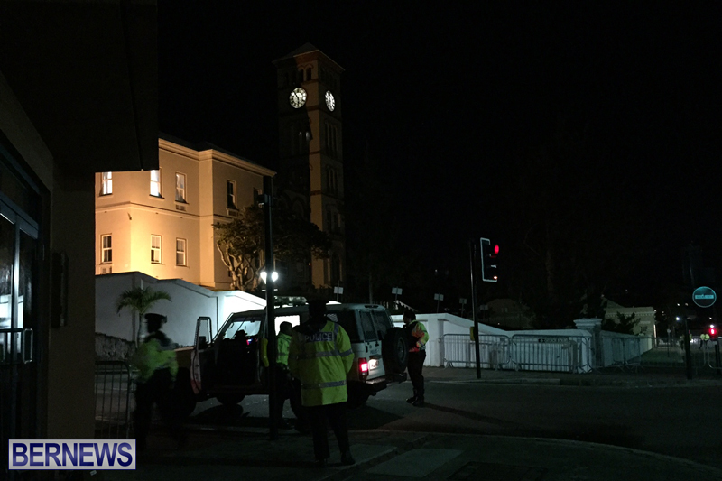 Police At House of Assembly Bermuda February 10, 2017 (4)