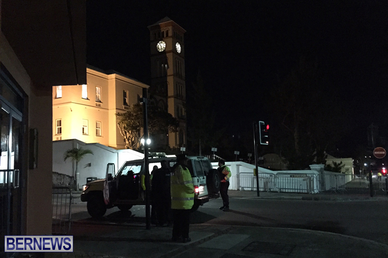 Police At House of Assembly Bermuda February 10, 2017 (5)