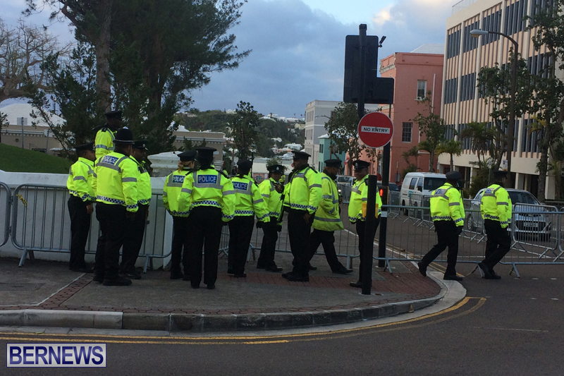 Police At House of Assembly Bermuda February 10, 2017 (9)